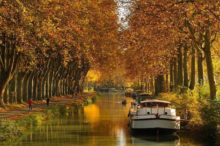 Toulouse canal du midi