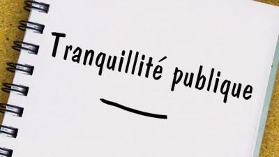 Tranquillite publique